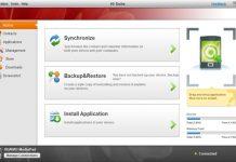 Утилита HiSuite на компьютере