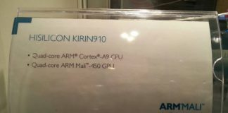 Huawei Ascend P6 получит процессор Hisilicon Kirin 910