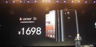 Объявлена официальная цена Huawei Honor 3X