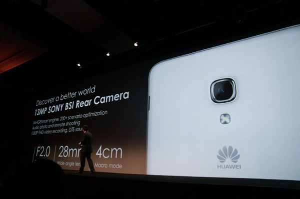 CES2014-Ascend Mate 2 4G Camera