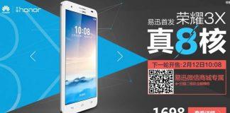 Старт продаж Huawei Honor 3X в России