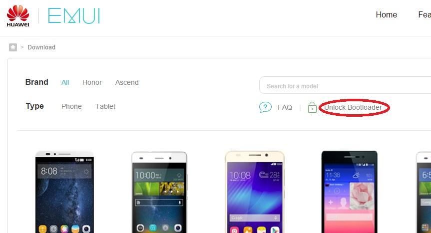 Разблокировка Bootloader на Huawei и Honor