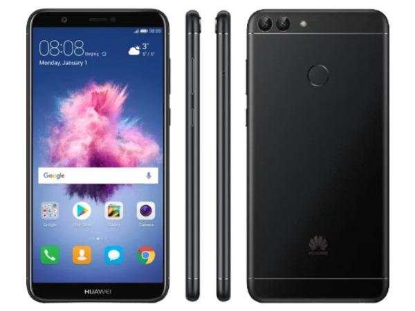 Телефон Huawei P Smart получил новое обновление прошивки