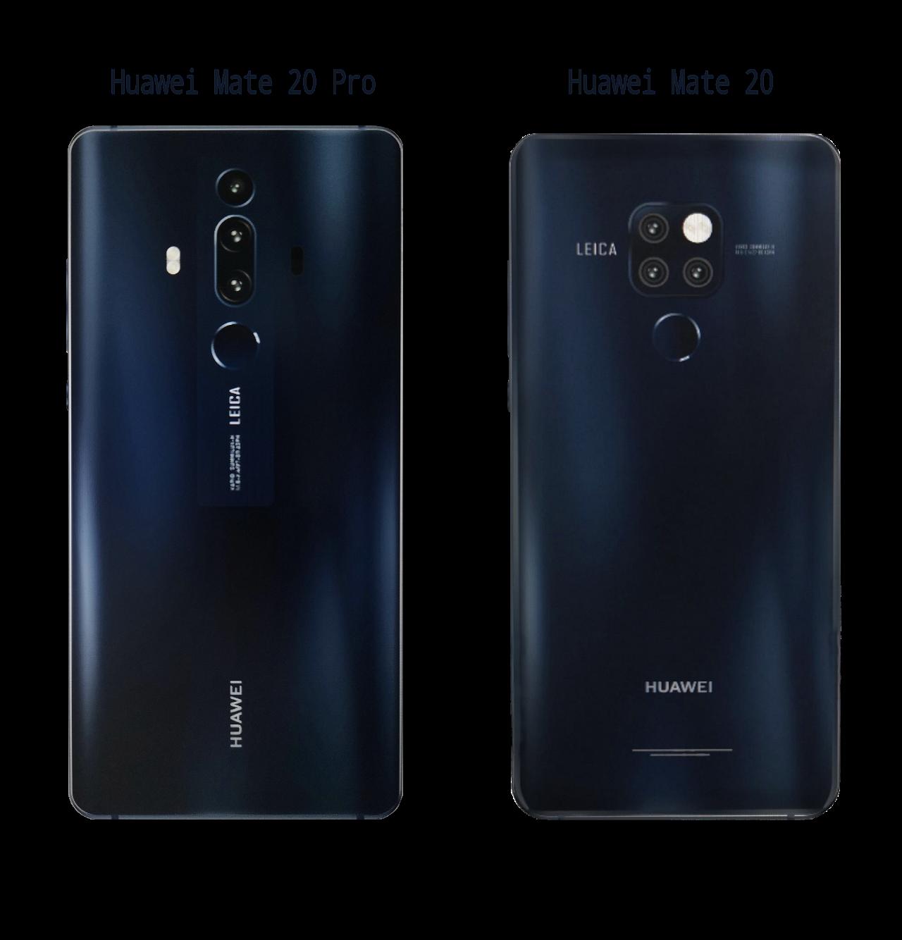 Huawei Mate 20 & Huawei Mate 20 Pro