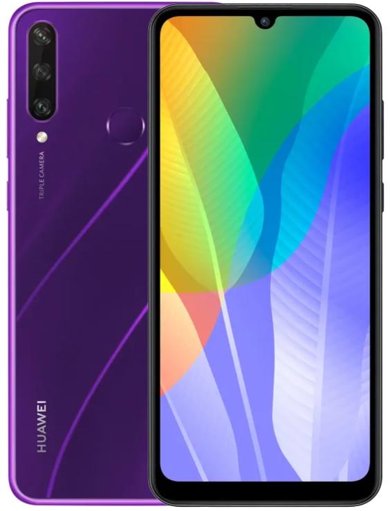 Huawei Y8p, Y6p и Y5p представлены для российского рынка