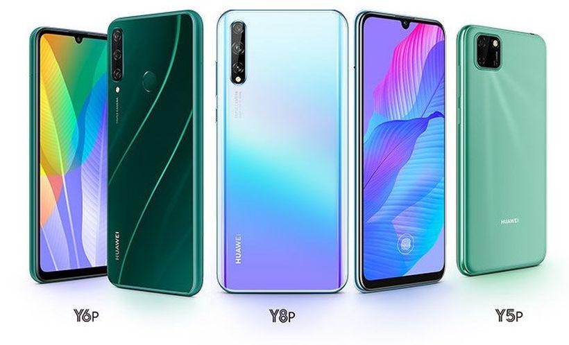 Huawei Y8p Y6p Y5p